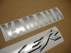 Yamaha FZS 1000 2001 Fazer red stickers kit