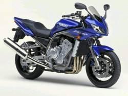 Yamaha FZS 2002 Fazer blue decals kit