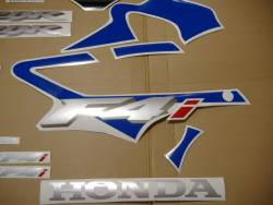 Honda 600 F4i 2005 blue complete sticker kit
