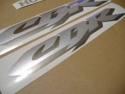Honda CBR 600 F4i 2005 blue decals kit