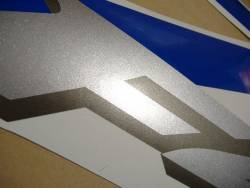 Honda CBR 600 F4i 2005 blue stickers kit