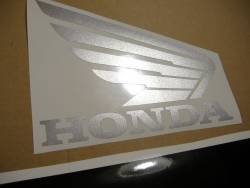 Honda CBR 600 F4i 2005 blue logo graphics
