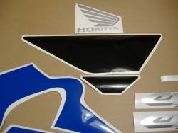 Honda 600 F4 2005 blue full decals kit