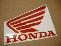 Honda CBR 900RR SC28 1994 silver decals kit