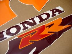 Honda 900RR 1994 silver adhesives set