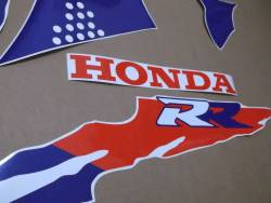 Honda 900RR 1994 white adhesives set