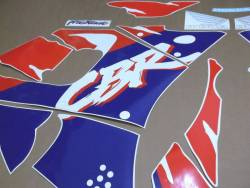 Honda 900RR 1994 white complete sticker kit