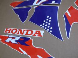 Honda 900RR Fireblade 1994 white stickers