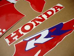 Honda CBR 900RR SC28 1995 red decals kit