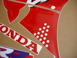 Honda 900RR 1995 Fireblade red decals