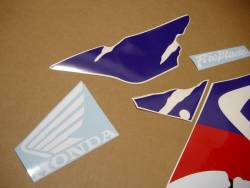 Honda CBR 900RR 1995 red stickers kit