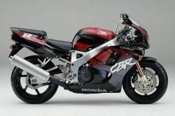 Honda CBR 900RR 1995 black stickers kit