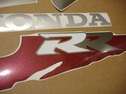 Honda 900RR 1995 SC28 black full decals kit