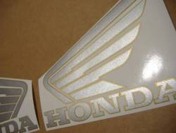 Honda 900RR 1995 Fireblade black logo graphics