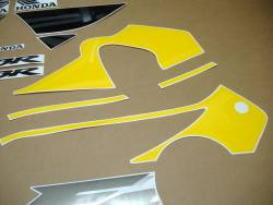 Honda 600F F4 1999 yellow reproduction decals
