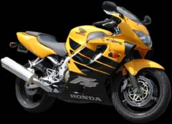 Honda CBR 600 F4 1999 yellow decals kit