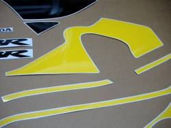 Honda 600 F4 1999 yellow full decals kit