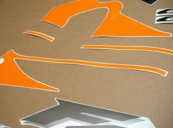 Honda CBR 600 F4 2000 orange decals kit
