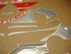 Honda CBR 600 F4 2000 silver labels graphics