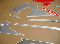 Honda 600 F4 2000 silver full decals kit