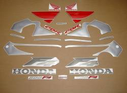 Honda 600 F4 2000 silver complete sticker kit