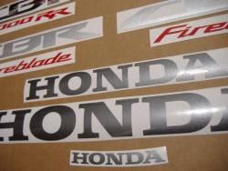 Honda 1000RR 2014 Fireblade black logo graphics
