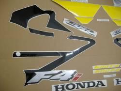 Honda CBR 600 F4i 2003 black decal set