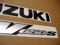 Suzuki SV 650S 2000 yellow stickers kit