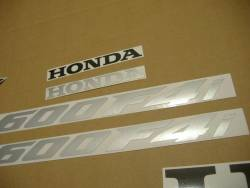 Honda CBR 600F F4i 2005 custom adhesives set