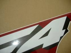 Honda CBR 600F F4i 2006 custom decals