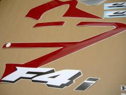 Honda 600F F4i 2004 custom logo graphics