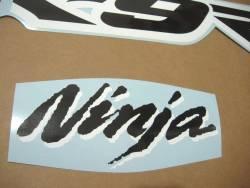 Kawasaki ZX9R 2003 Ninja green decals kit