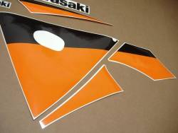 Kawasaki ZX 9R 2003 silver full decals kit
