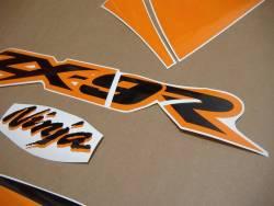 Kawasaki ZX-9R 2003 complete sticker kit