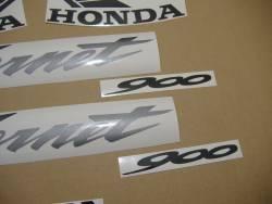 Honda 900F Hornet 2006 silver full decals kit