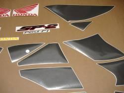 Honda VTR 1000 2002 white adhesives set