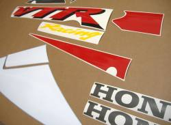 Honda VTR 1000 2002 white labels graphics
