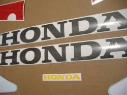 Honda vtr 2002 SC45 white stickers set