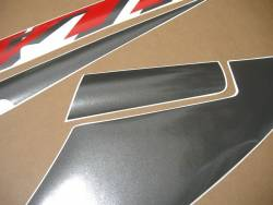 Honda VTR 2005 SC45 black stickers set