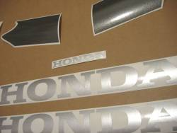 Honda VTR 1000 2005 black complete sticker kit