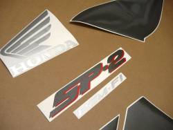 Honda VTR 1000 2005 SC45 black decals