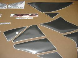 Honda VTR 1000 2005 SC45 black logo graphics