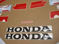 Honda VTR  1000 2005 black labels graphics