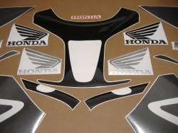Honda RVT 1000R 2005 RC51 black adhesives set