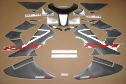 Honda 1000R 2005 RC51 black stickers set