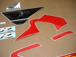 Honda CBR 600F F4 2001 red decals