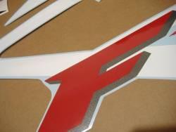 Honda 600F F4 2002 white logo graphics