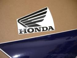 Honda CBR 600F F4 2002 white decals