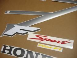 Honda 600F F4 2001 silver logo graphics