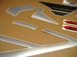 Honda CBR 600F F4 2001 silver stickers